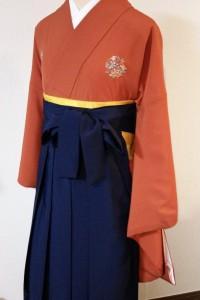卒業式用袴&花紋着物