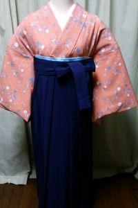 卒業式用袴&ポリ着物