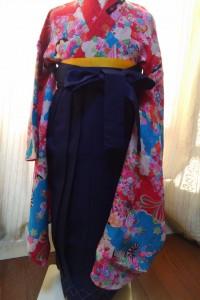 ジュニア袴&アンティーク着物